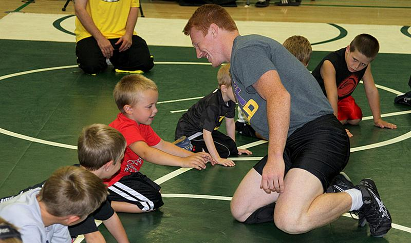 Arrow Wrestling Camp provides fun games and activities