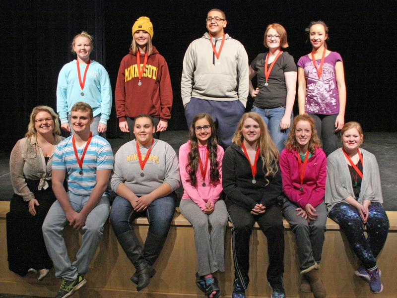 RTR and PAS one act teams advance to section contest